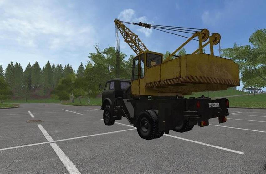 MAZ 5516 Truck Crane v 1.0