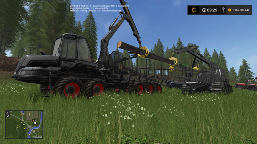 Ponsse Buffalo with loading crane without autoload V 1.0