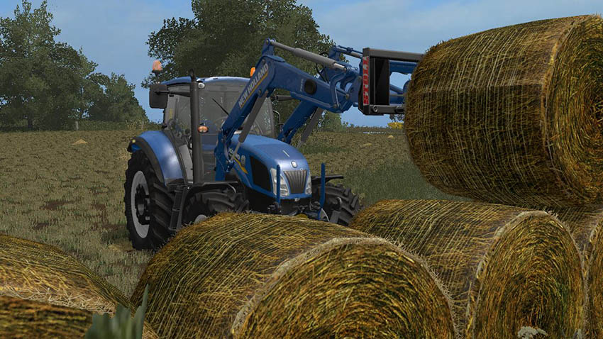 Texture of rotten straw bales v 1.0