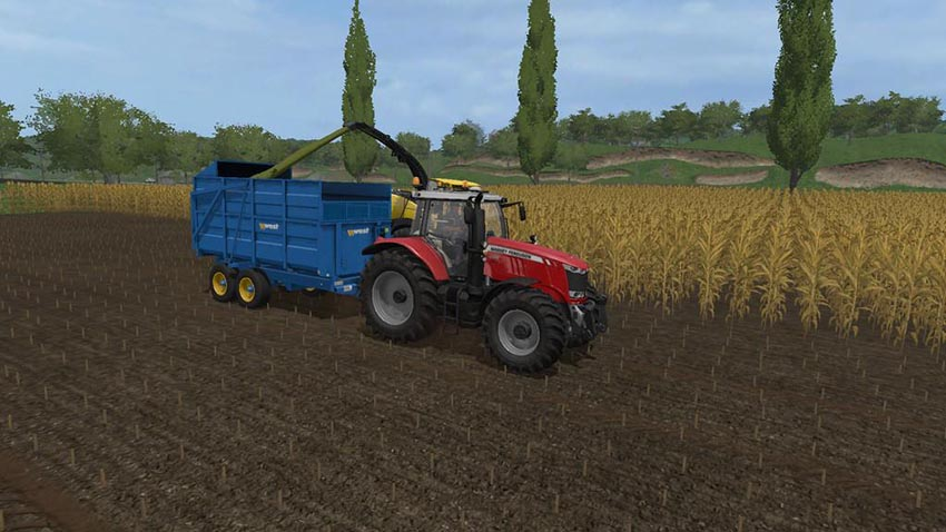 West 10t Silage Trailer v 1.1.1