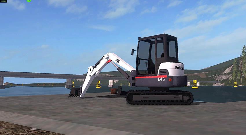 Bobcat Mini Excavator v 2.4.7