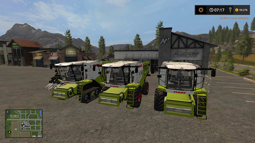 CLAAS LEXION 700 STAGE IV pack v 1.4.2.1