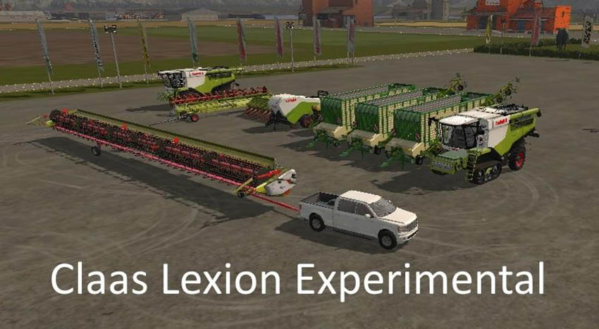 Claas Lexion Experimental v 1.0