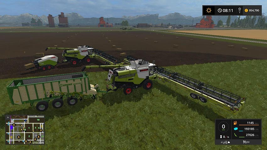 Claas Lexion Ultimate Map Pack v 1.0