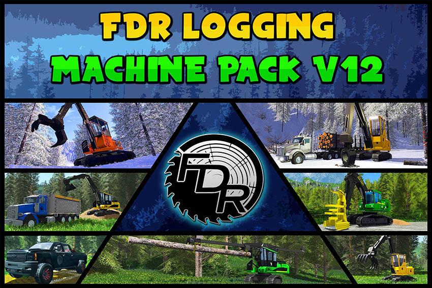 FDR Logging - V12 Machine Pack