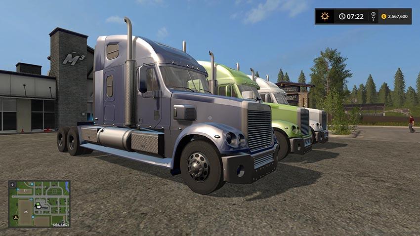Freightliner Coronado multicolor v 1.0