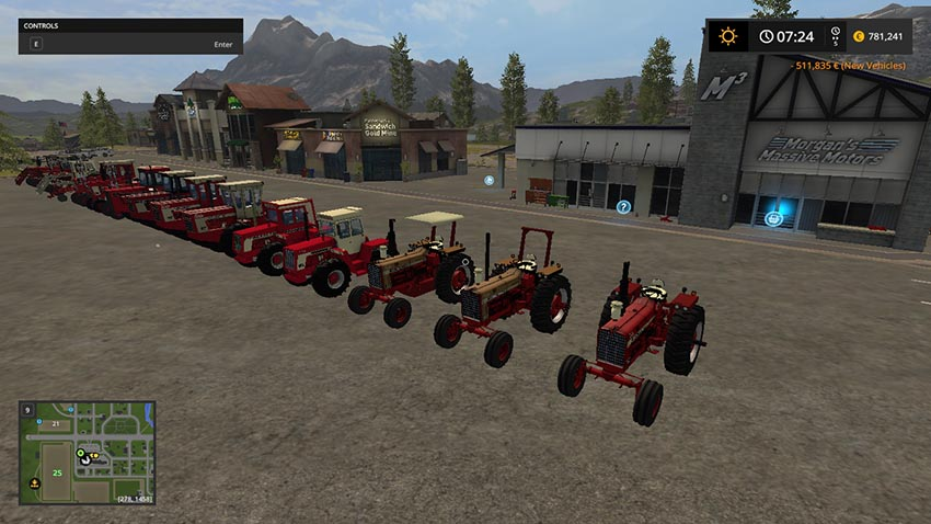 INTERNATIONAL 4568 + 15 other v 1.0