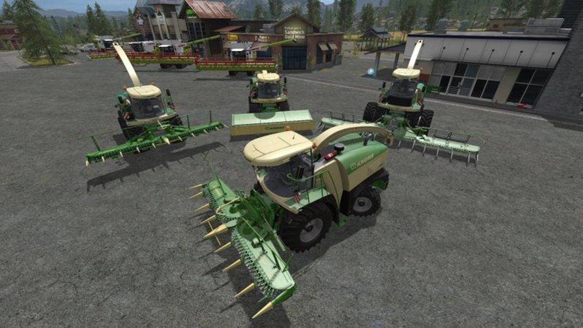 Krone Big X Series with PF Cam v 1.1