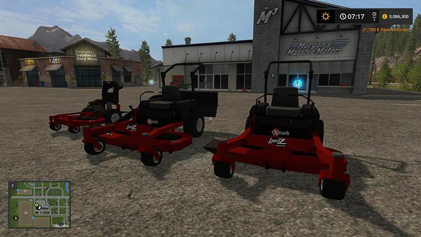 Mower Pack With New Zero Turn v 1.0