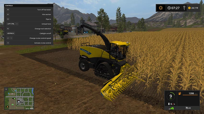 New Holland FR850 Lite v 1.0