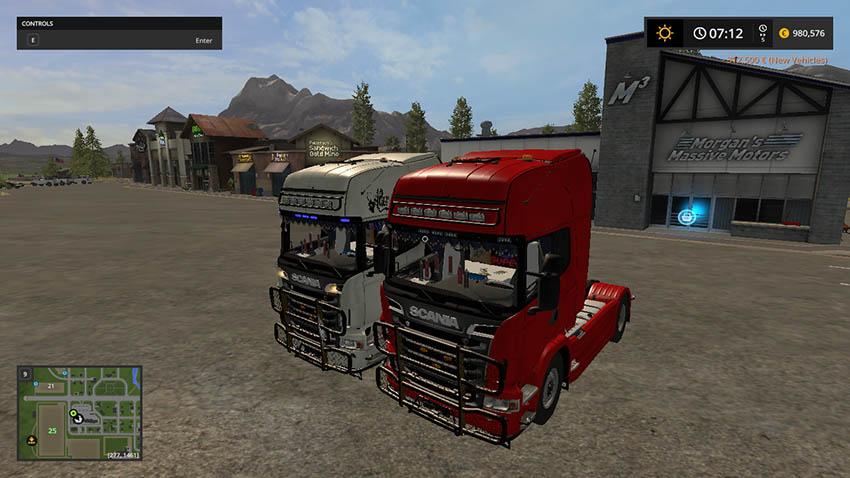 Scania R720 V8 v 1.0