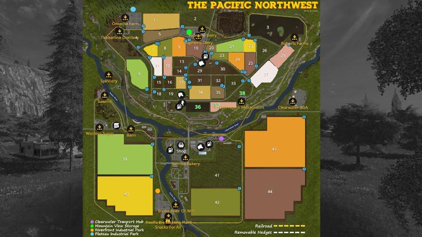 The Pacific Northwest v 1.0