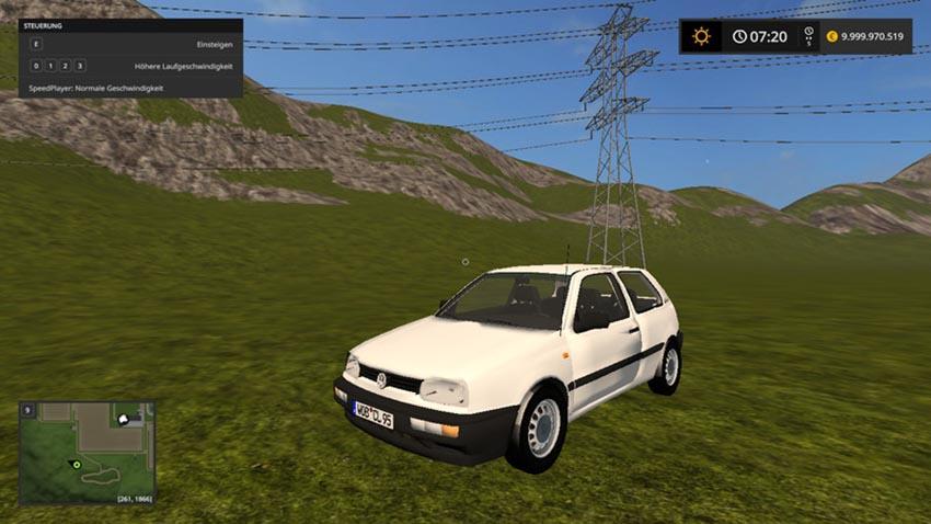 Volkswagen Golf III 1.6 CL Europe V 2.0