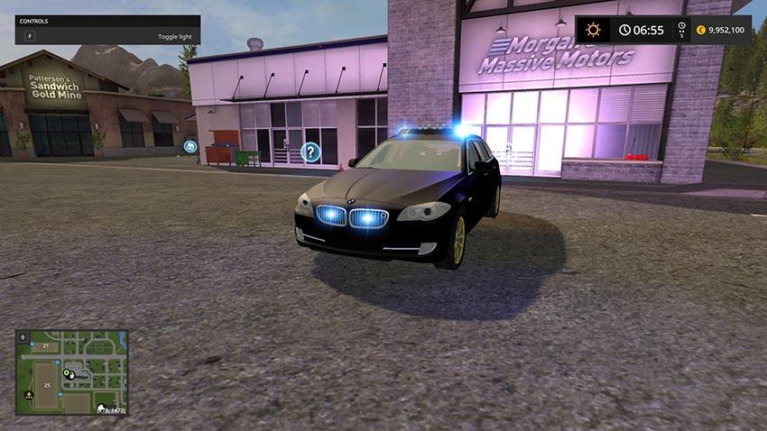 BMW 530D TOURING Black v 2.0