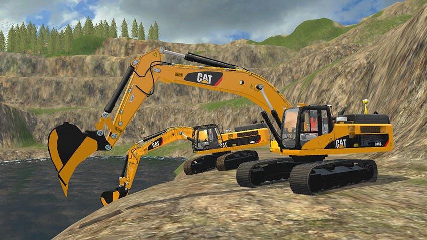 Caterpillar 345D Pack v 1.0