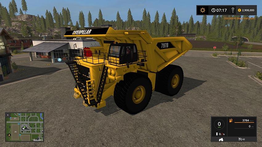 Caterpillar 797B Dump Truck v 1.0