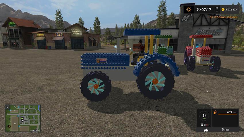 Crazy Lego Tractor v 1.0