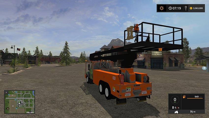 Frightlinner Bucket Truck v 2.0
