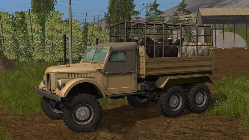 GAZ-69 for live transport v 1.0