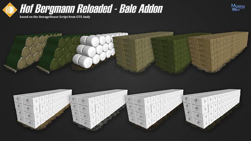 Hof Bergmann Realoaded - Bale Addon v 1.0