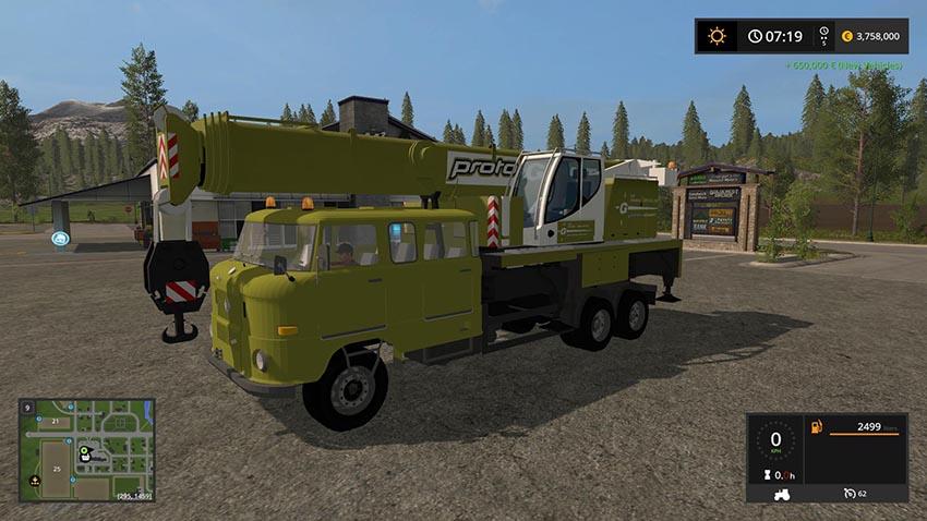 IFA W50 Kran v 1.0.2