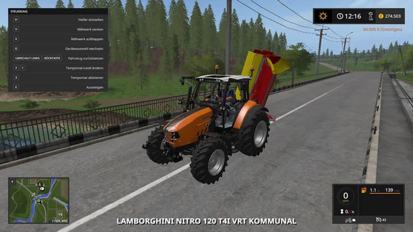 Lamborghini Nitro 120 VRT Municipal V 2.0
