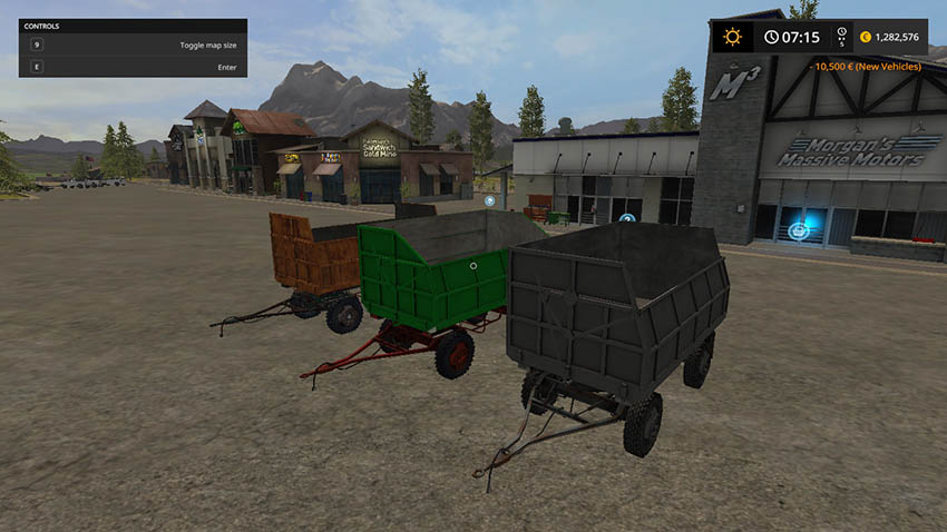 MBP 6.5 Silage Trailer Pack v 1.0