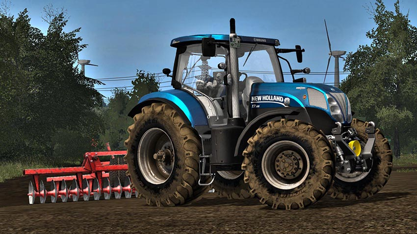 New Holland T7 v 2.0