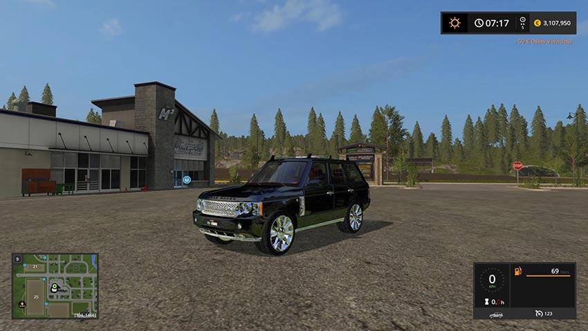 Range ROVER 2009 v 1.0