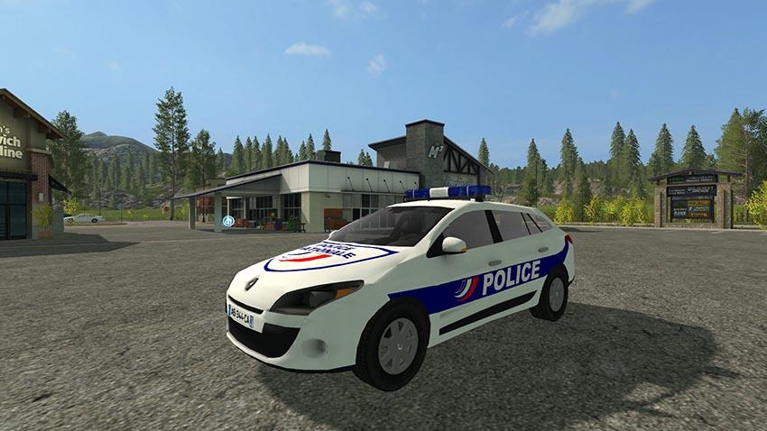 Renault Megane 3 Estate Police Nationale v 1.0