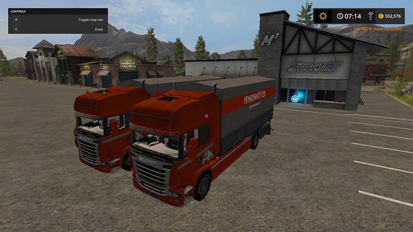 Scania R730 and trailer v 1.1