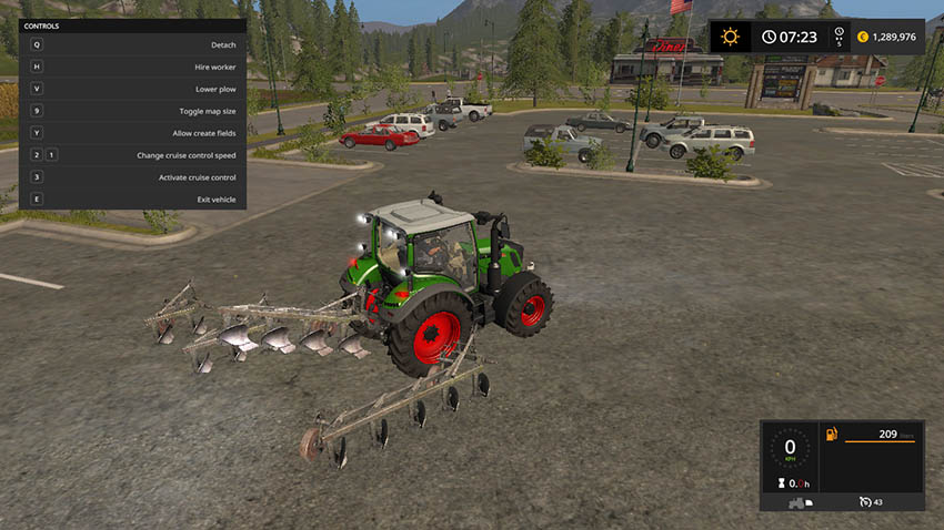 Unia plough pack v 1.0