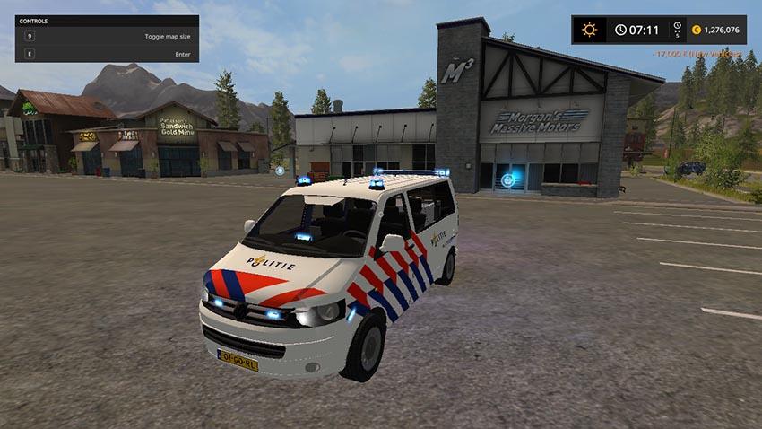 VW T5 Politie v 1.0