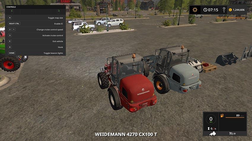 Weidemann 4270 CX 100T v 1.0
