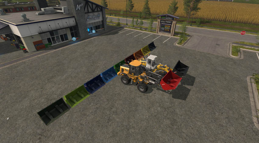 Wheel Loader Shovel Multicolor 10000l V 1.0