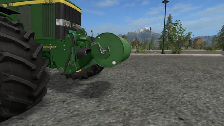Barrel weight 570kg V 1.0