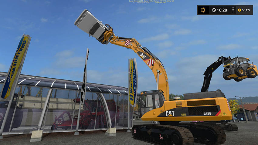 CAT 345D Grapple v 1.0