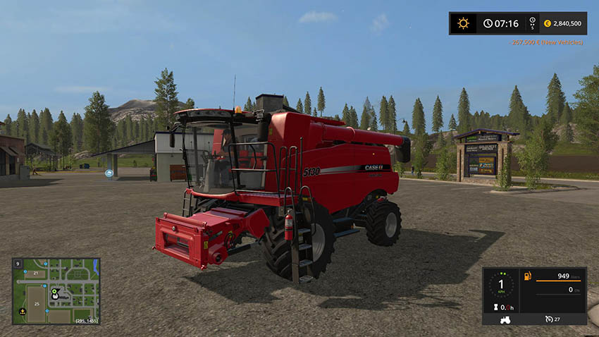 Case IH Axial-Flow X130 series v 1.0