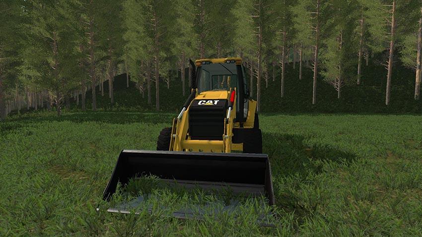 Caterpillar 420F Backhoe v 1.0