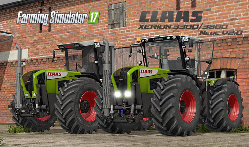 Claas Xerion 3300/3800 v 2.0 Final