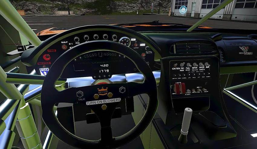 Corvette C5R Racing v 1.0