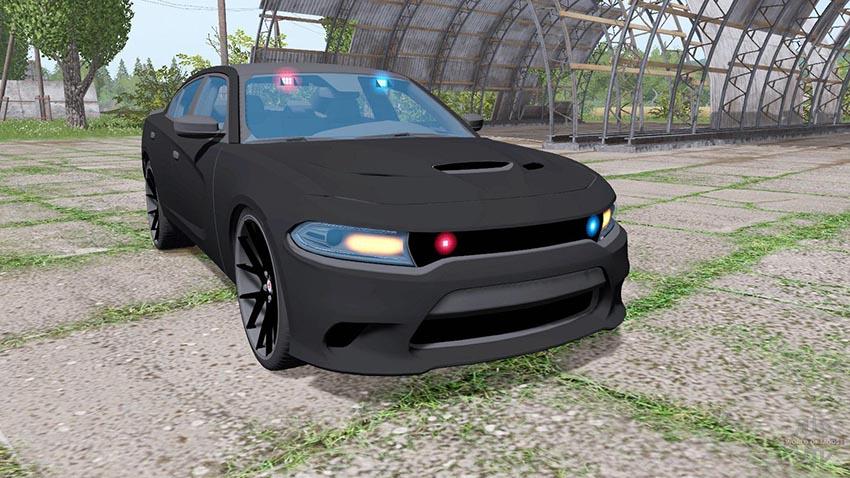 Dodge Charger SRT Hellcat 2015 Unmarked Police v 1.0