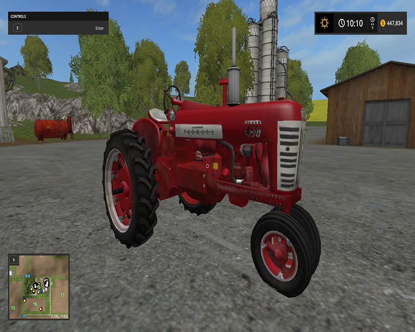 Farmall 450 With 3 point and updated sound v 2.0