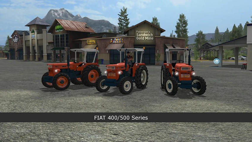 Fiat 400/500 Series v 1.0.0.6