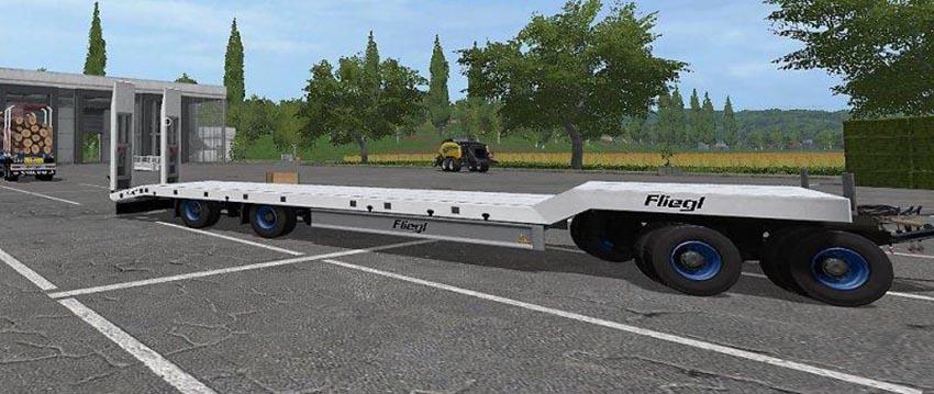 Fliegl 4 Axle LowLoader v 2.0