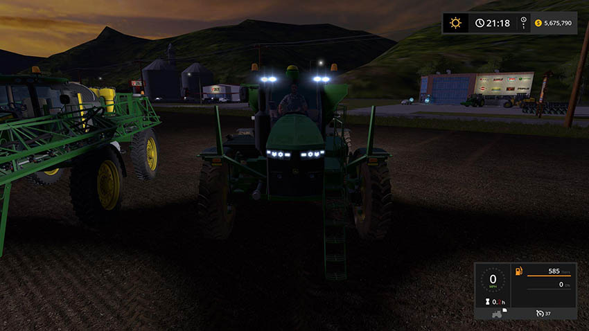 JD 4045 Sprayer/Spreader v 1.0
