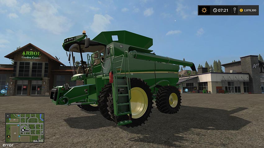 JOHN DEERE S600 US VERSION MODEL 2012 v 1.0