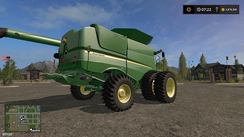 JOHN DEERE S600 US VERSION MODEL 2012 v 1.0