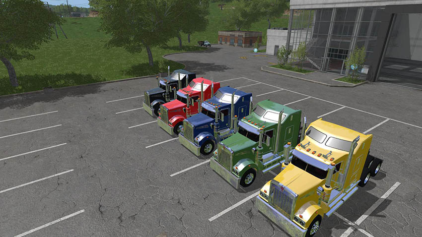 KENWORTH T908 UPDATE v 1.0