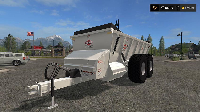 Knight SLC141 manure spreader v 1.0